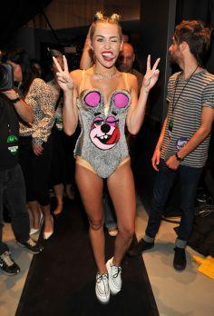Miley Cyrus at the VMA's Photo Credit: www.mtv.com