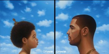 Drake's album cover art Photo Credit: www.spin.com