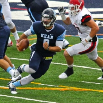 Tyler Rodriguez threw for 190 yards and ran for 86 yards in Kean's win over Bridgewater State.