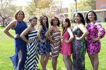 The sisters of Omega Phi Chi Multicultural Sorority Incorporated