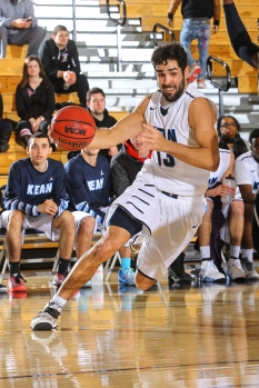 Soulias was a key player in Kean's season last year, and is expected to have a bigger role this season. Photo: Larry Levanti