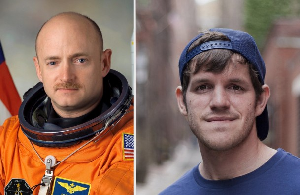 Astronaut Captain Mark Kelly, left, will deliver the graduate commencement address on May 17, while  Brandon Stanton, photographer and founder of the popular Humans of New York photo blog will give the undergraduate commencement speech on May 19. (Photos courtesy of Kean University)