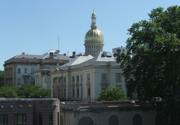 The New Jersey State House. Credit: Marion Touvel via Wikimedia Commons